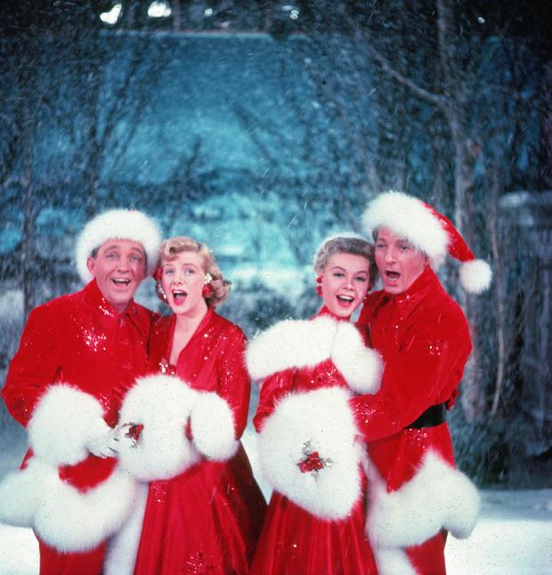 "(TIE) 25. ""White Christmas"" (77%)"