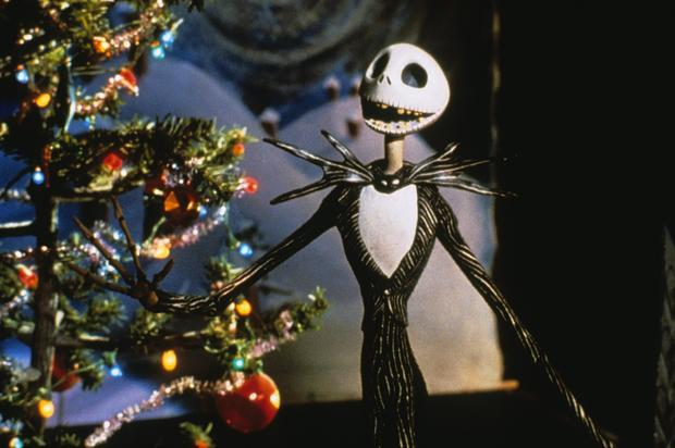"(TIE) 7. ""The Nightmare Before Christmas"" (95%)"