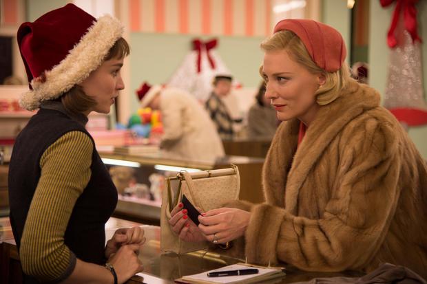 """(TIE) 1. """"Carol"""" (100%)"""