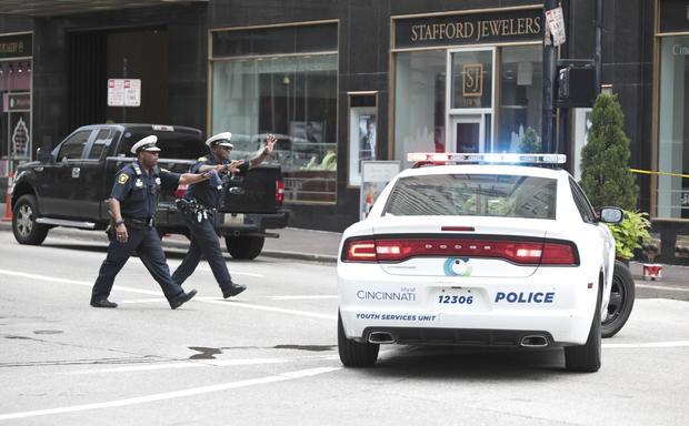 Shooter Opens Fire In Downtown Cincinnati, Four Dead Including The Gunman