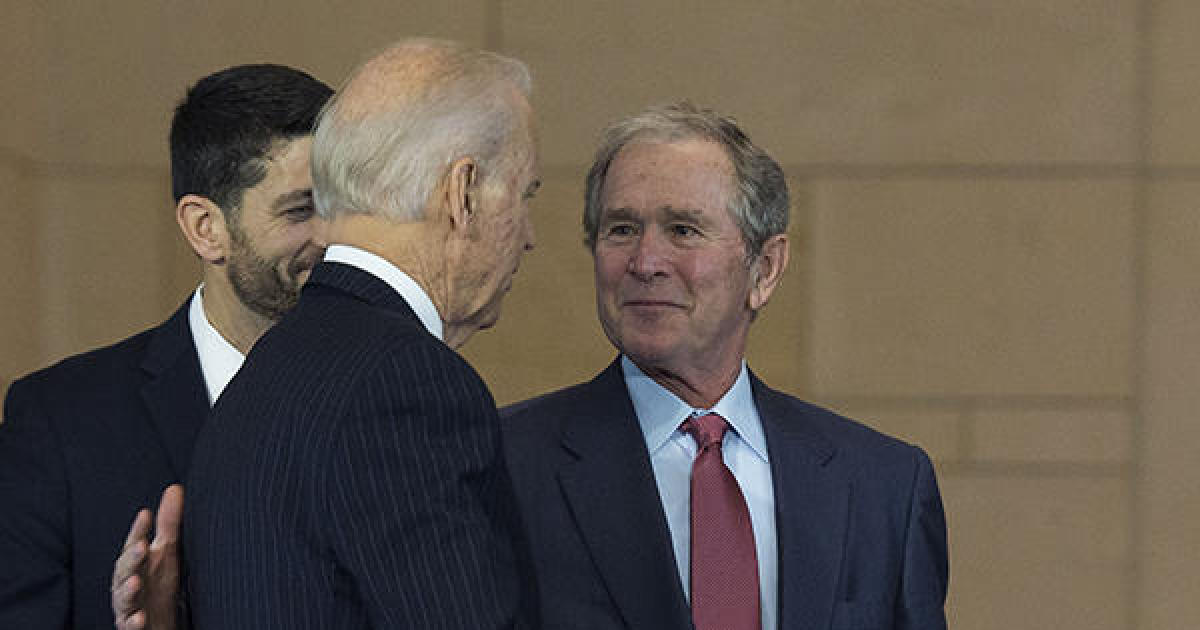 "George W. Bush congratulates Biden and Harris on victory: ""We must come together"" – CBS News"