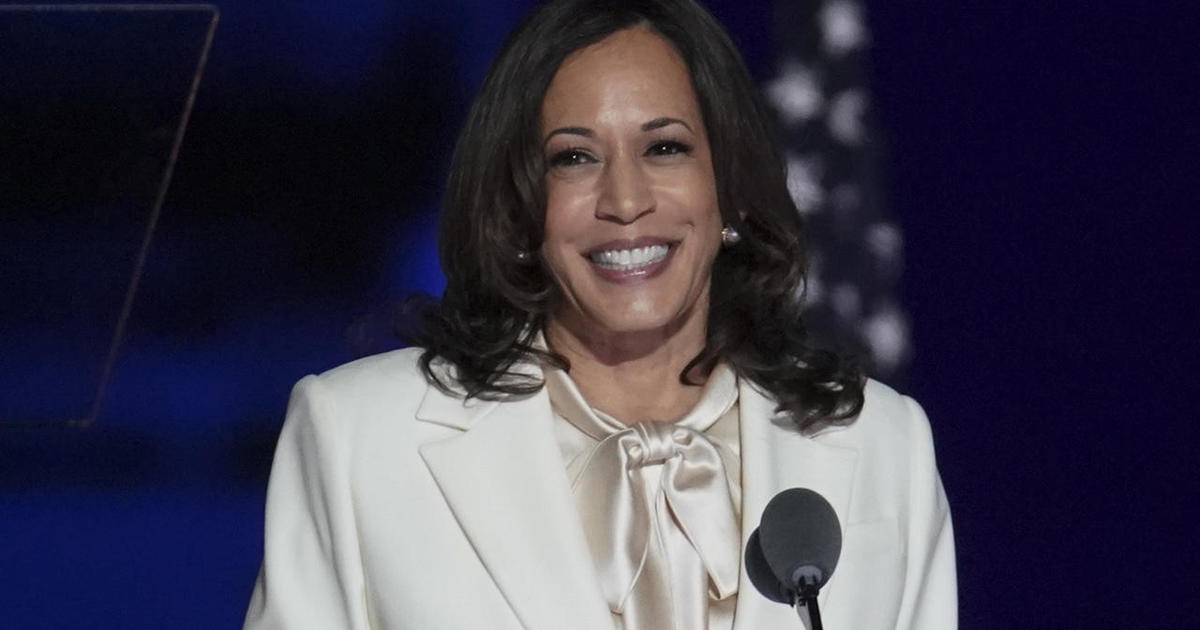 Vice President Elect Kamala Harris A Woman Of Many Firsts Cbs News
