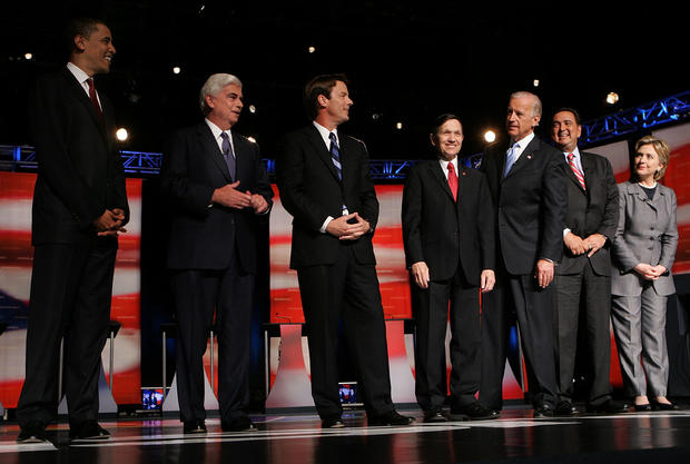 Democratic Presidential Candidates Meet For First Debate
