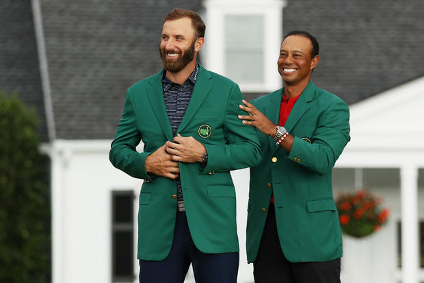 Dustin Johnson — The Masters - Final Round