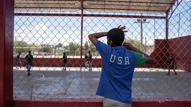 TOPSHOT-US-MEXICO-IMMIGRATION-YOLANDA-RIGHTS