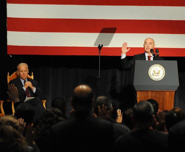 Vice President Joe Biden Attends Naturalization Ceremony