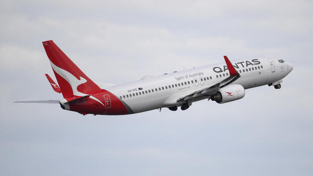 Qantas Celebrates 100th Anniversary In Sydney