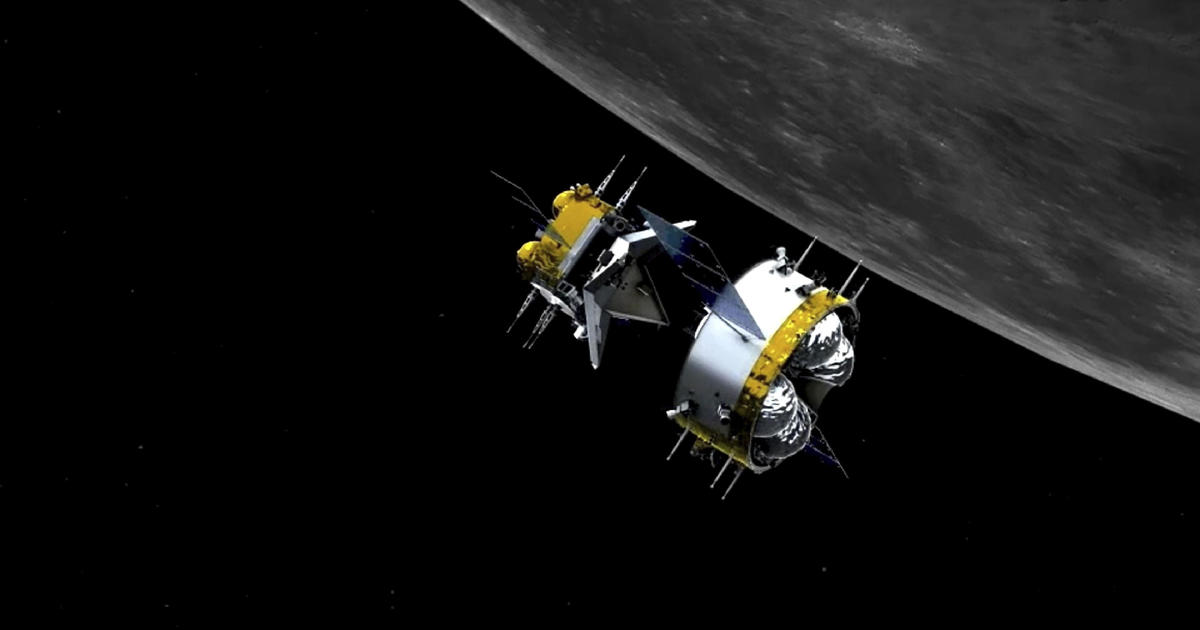 China becomes first country to execute robotic docking in lunar orbit