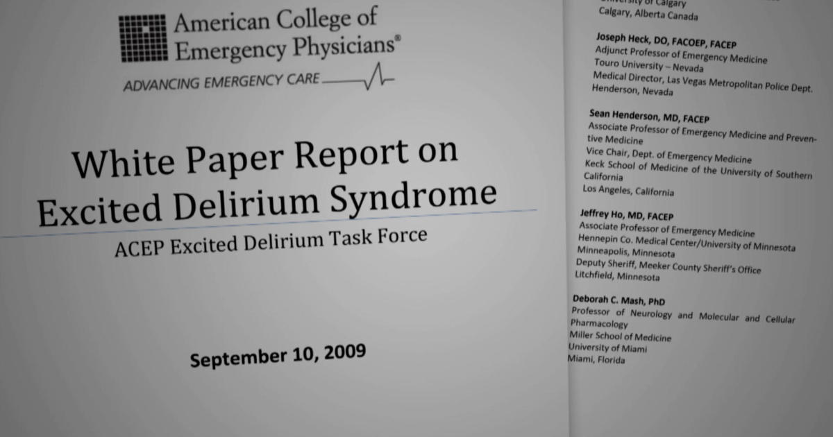 Excited Delirium: The controversial syndrome that can be used to protect police from misconduct charges