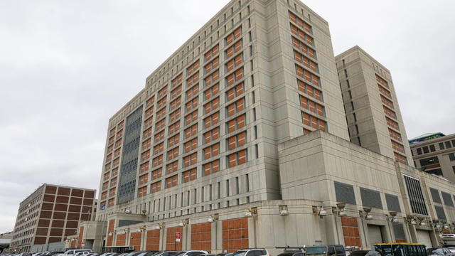 The Metropolitan Detention Center (MDC), which is operated by the U.S. Federal Bureau of Prisons, is pictured in Brooklyn, New York
