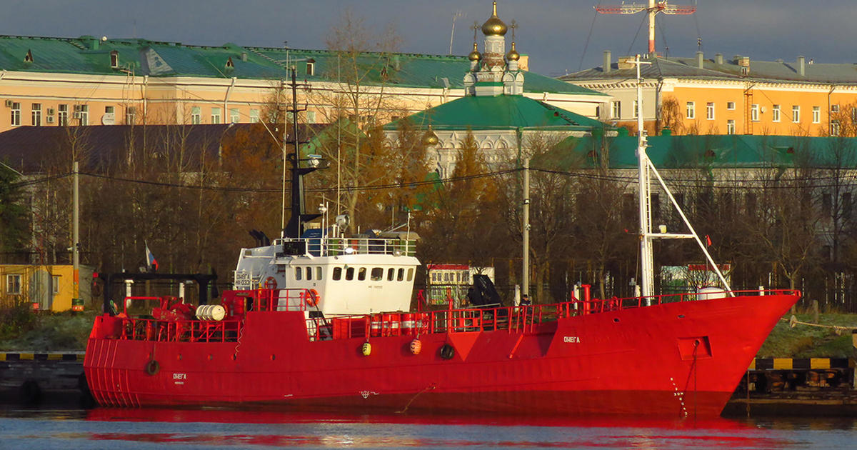 17 fishermen feared dead after ship sinks during snowstorm in Arctic Russia – CBS News