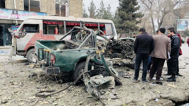 Bombings kill 4 in Afghan capital