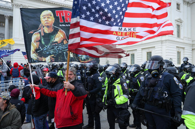 Trump supporters storm Capitol building in Washington