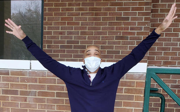 Eddie Lee Howard leaves a Mississippi prison January 11, 2021.