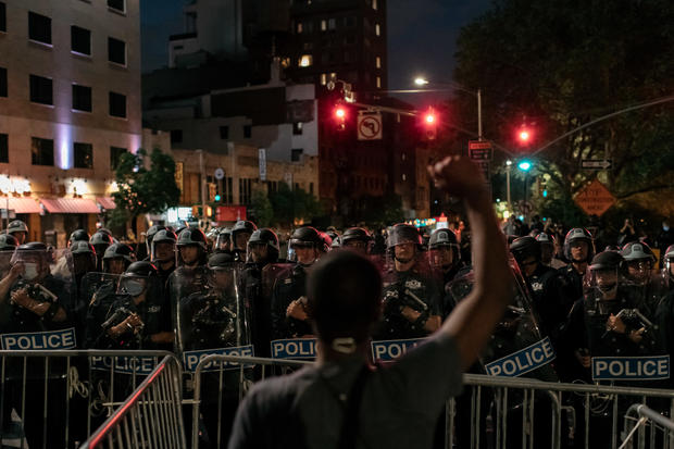 police protest nyc