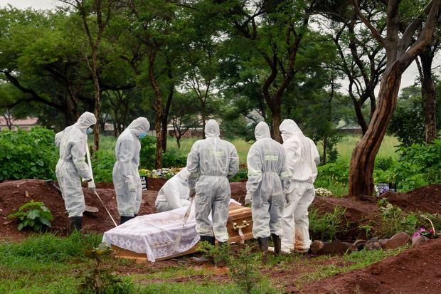 ZIMBABWE-HEALTH-VIRUS-FUNERAL