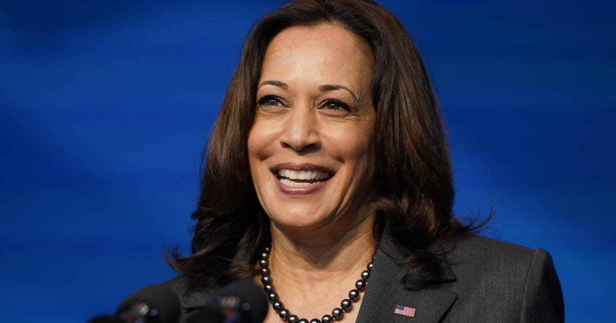By 3 to 1, Americans see Kamala Harris' history-making moment as a good thing — CBS News poll