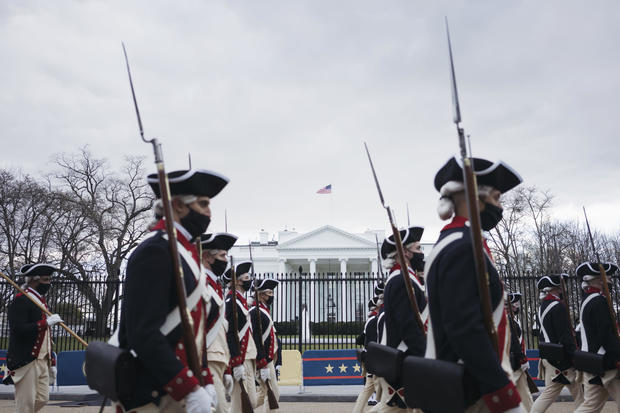 Washington DC Prepares For Inauguration Of Joe Biden As 46th President