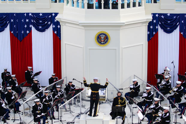 Marine band performs
