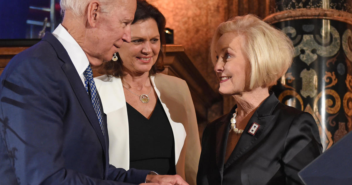"Cindy McCain says Joe Biden ""absolutely ready"" to be president"