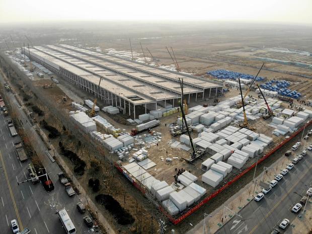 CHINA-HEBEI-NANGONG-COVID-19-QUARANTINE CENTER-CONSTRUCTION (CN)