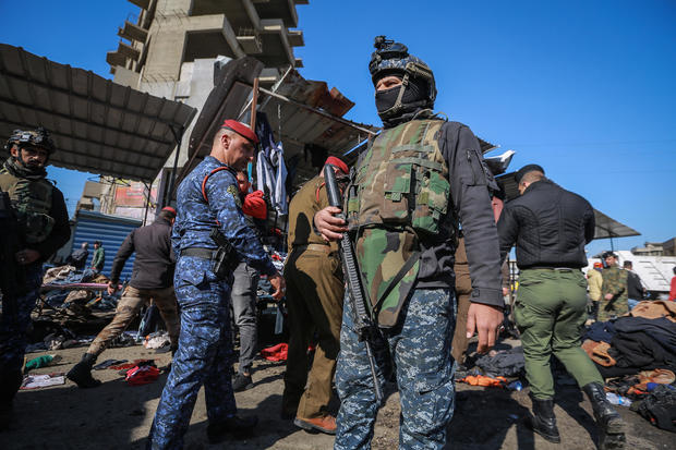 Twin suicide bombings hit central Baghdad
