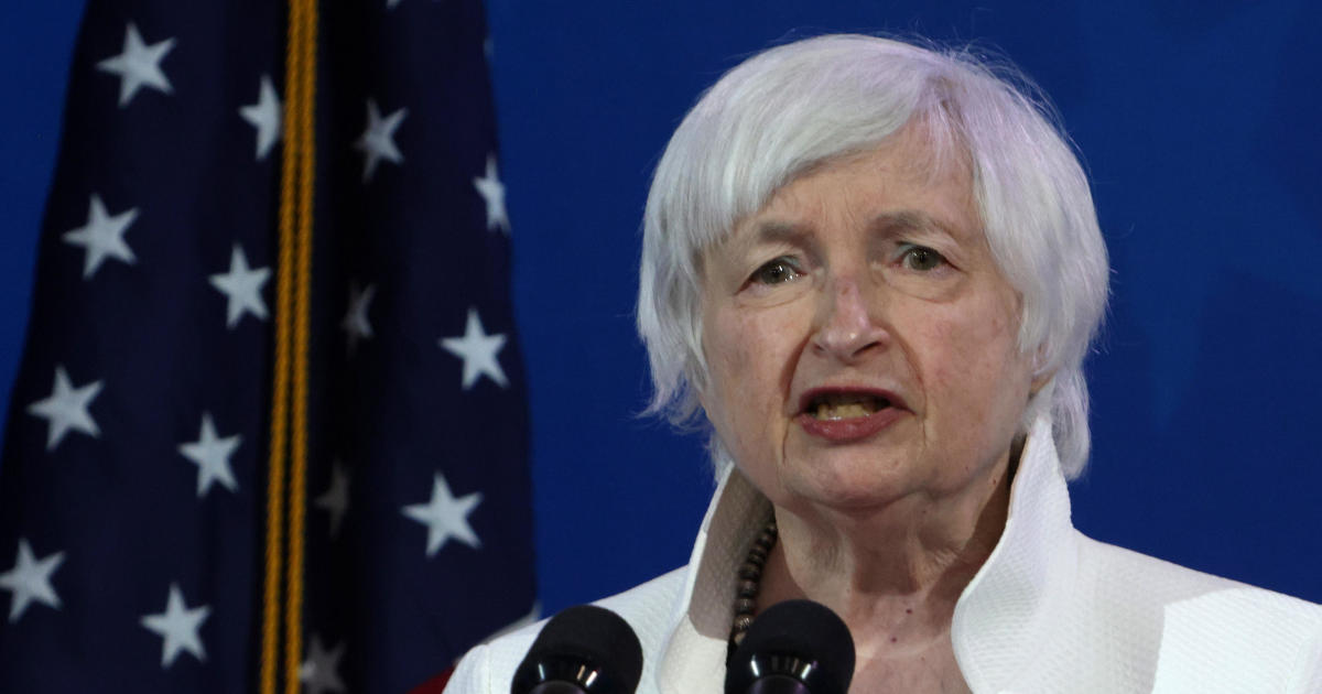 """Treasury Secretary Janet Yellen calls for global minimum tax on companies to """"stop the race to the bottom"""""""