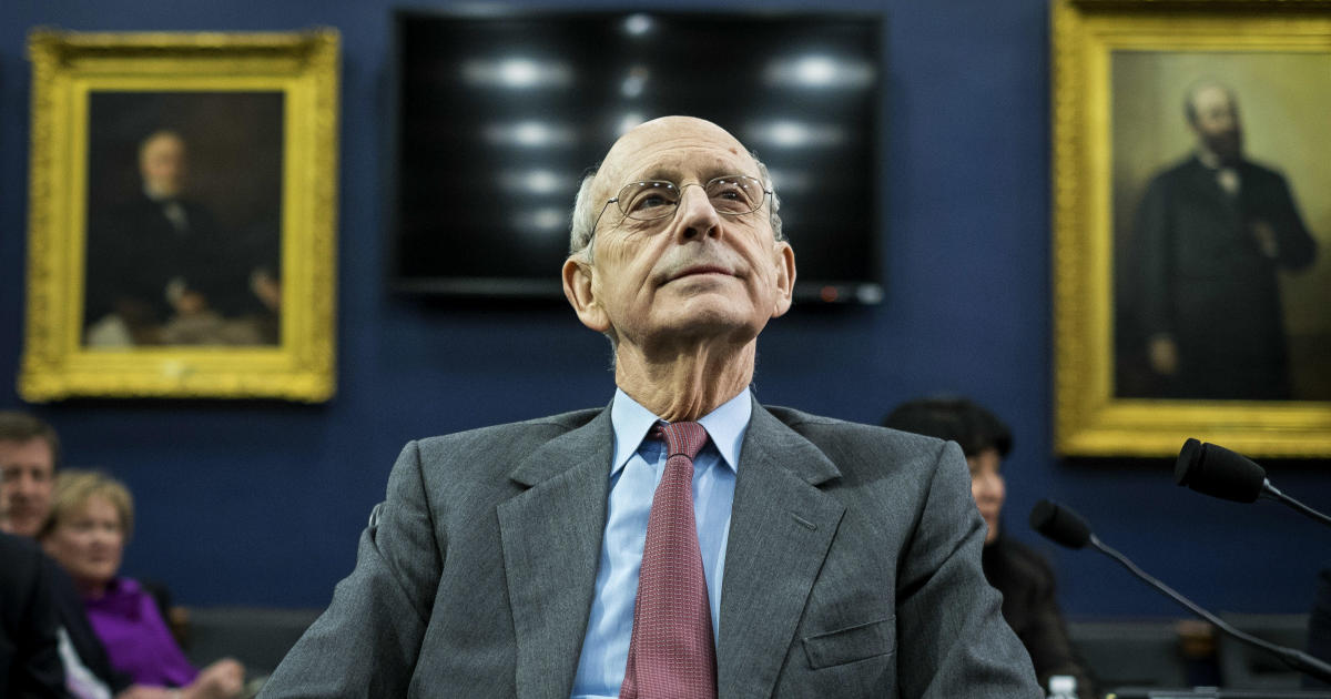 Democrats' takeover of Washington prompts questions about Justice Stephen Breyer's future