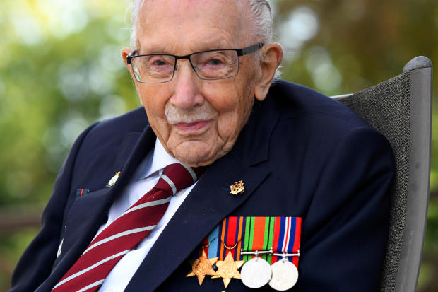 FILE PHOTO: Captain Sir Tom Moore