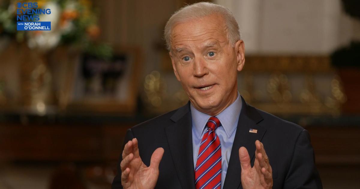 "Biden says son Hunter's book ""gave me hope"""