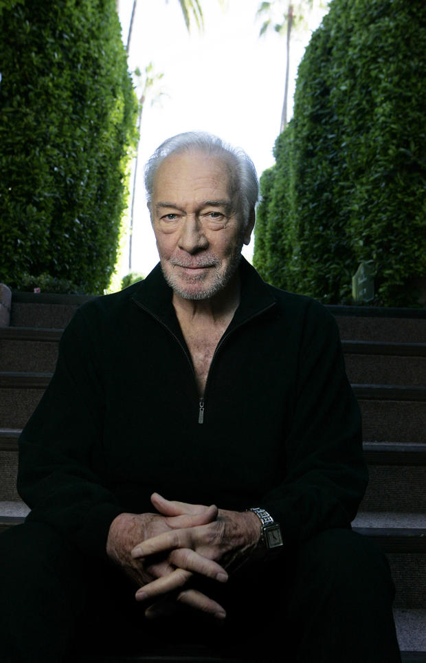Christopher Plummer, the veteran actor who has two movies coming out this Christmas; the imagariniu