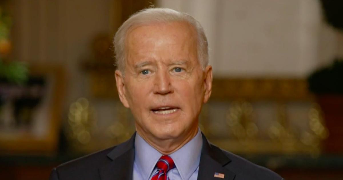 Biden says U.S. won't lift sanctions until Iran halts uranium enrichment