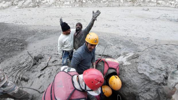 APTOPIX India Glacier Flooding