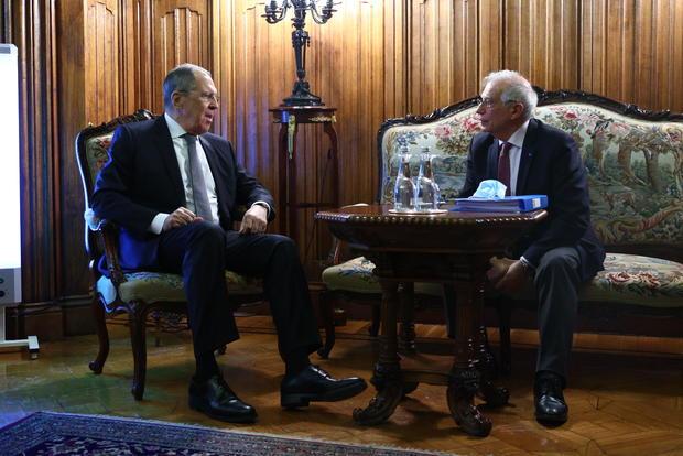 Sergey Lavrov - Josep Borrell meeting in Moscow