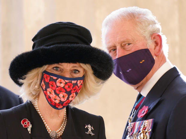 Prince Charles And Camilla Visit Berlin On National Day of Mourning