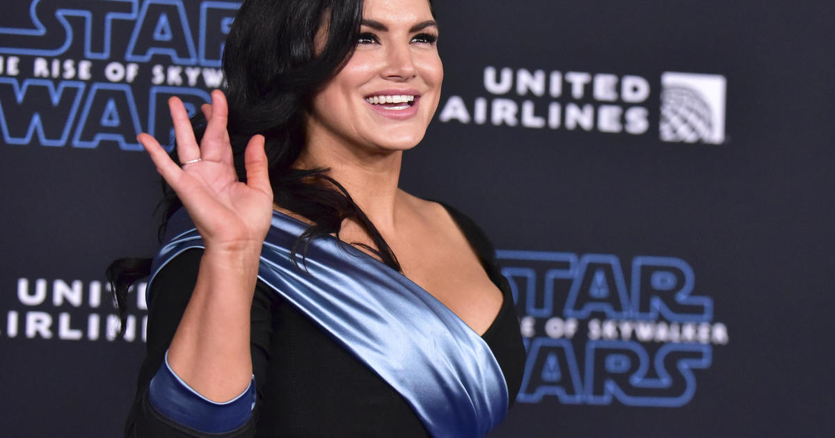 """Gina Carano out of """"The Mandalorian"""" amid tweet controversy"""