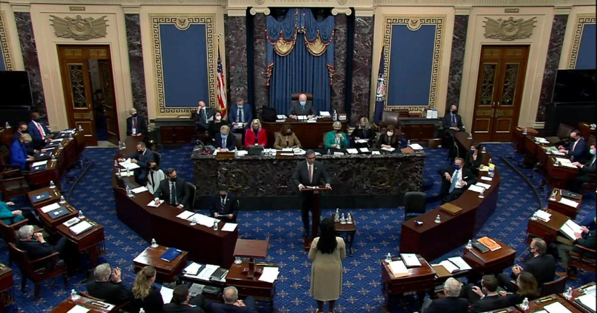 Pembaruan Tetap Impeachment: Senat menawarkan bunyi untuk membebaskan Trump thumbnail