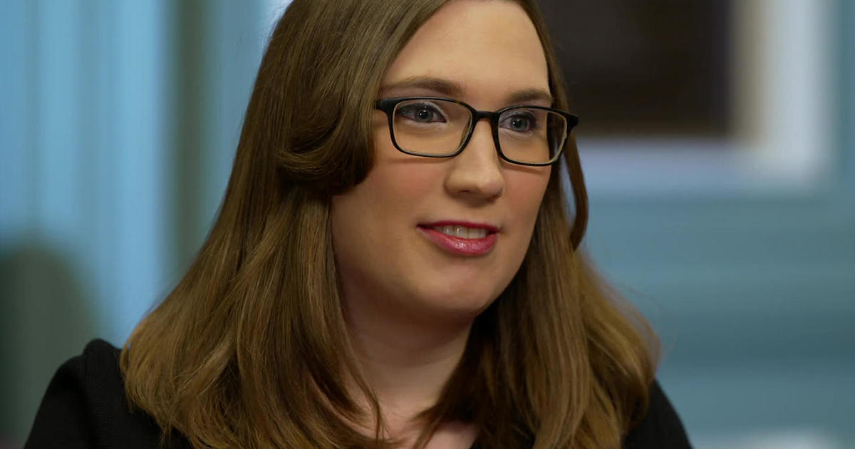 LGBTQ rights advocate Sarah McBride