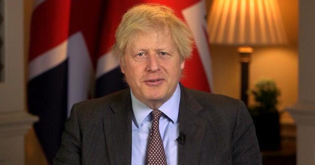 """Full Interview: UK Prime Minister Boris Johnson on """"Face the Nation"""""""