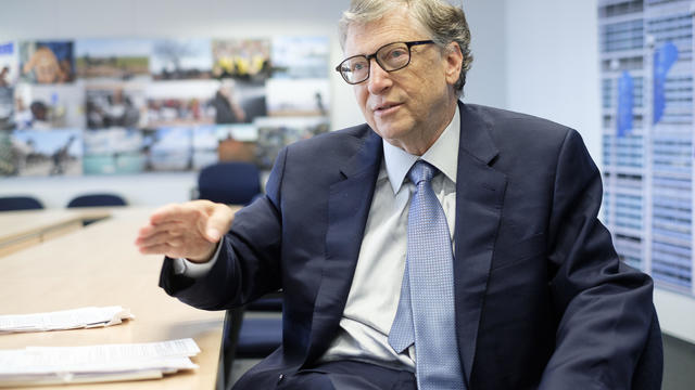 Bill Gates in Brussels to Promote Health and Clean-Energy Initiatives