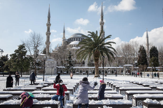 Snowstorm Hits Istanbul