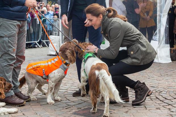 The Duke And Duchess Of Cambridge Visit Cumbria