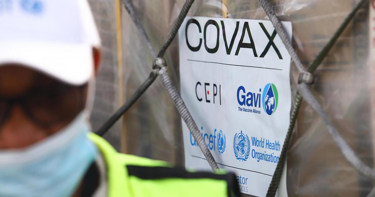 1st COVID vaccine doses from U.N.-backed COVAX initiative arrive in Ghana