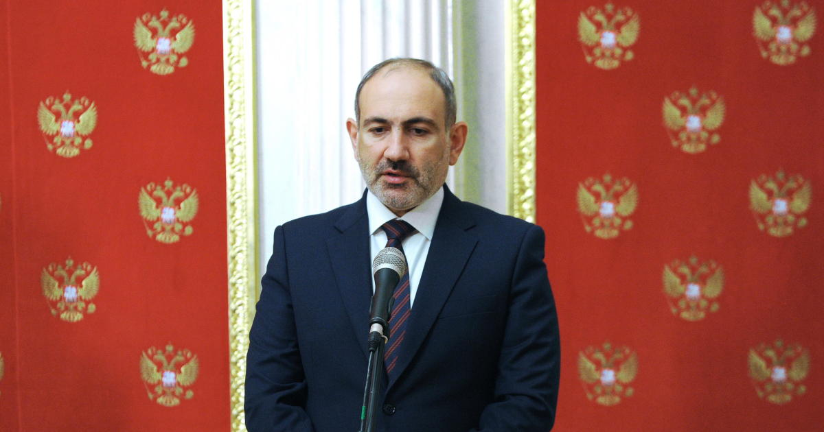 """Armenian leader says he's facing a """"military coup attempt"""""""