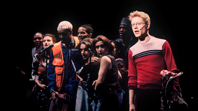 "Anthony Rapp and the original cast of ""Rent"""