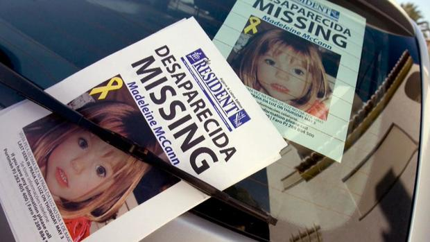Madeleine McCann missing posters