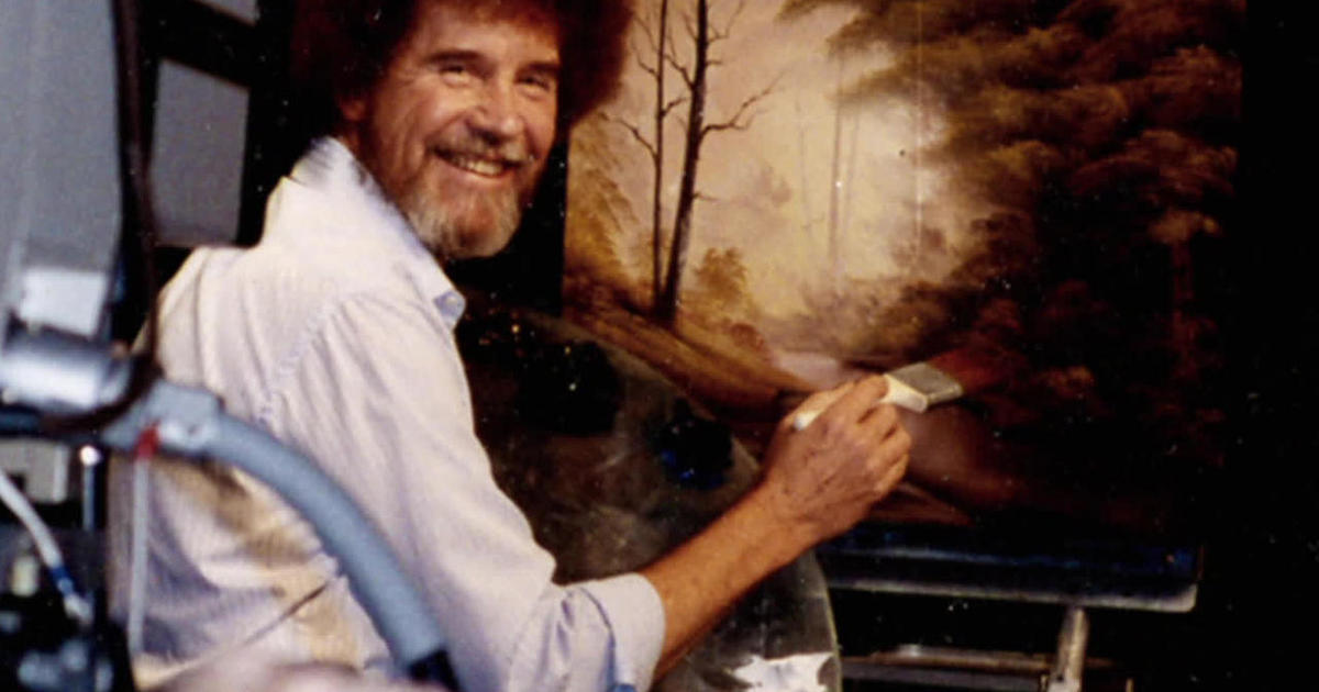The enduring popularity of artist Bob Ross – CBS News