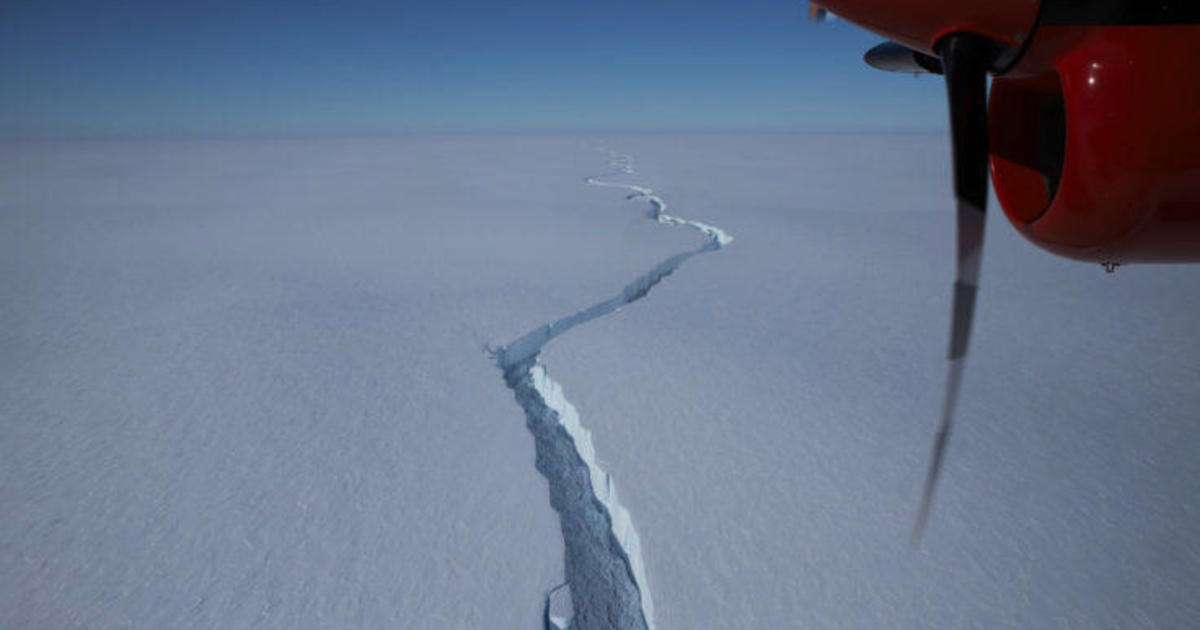 Iceberg larger than New York City breaks off in Antarctica
