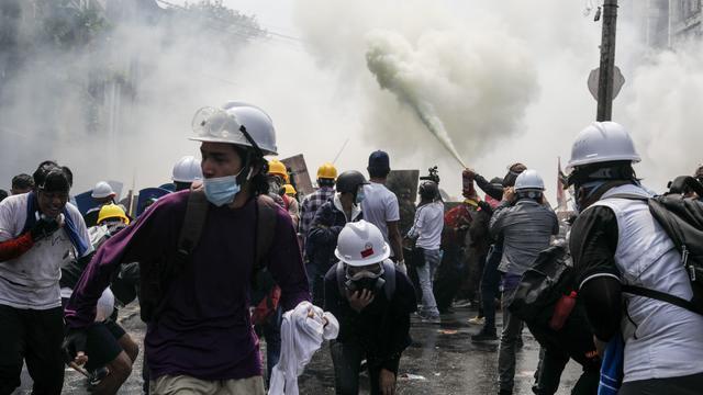 TOPSHOT-MYANMAR-POLITICS-MILITARY