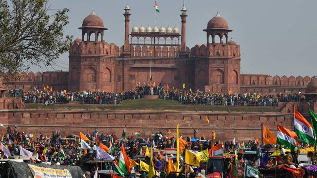 Red Fort protests